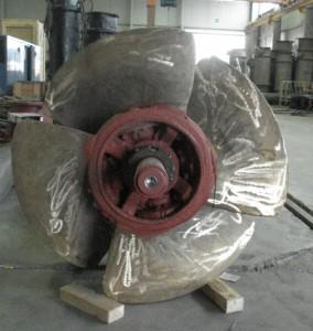 Bombas sumergibles de hélice
